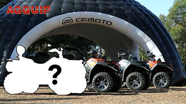 CFMoto will be launching a new ATV at Agquip