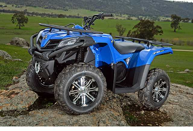 cfmoto takes aim at mid size atv market with 400cc atv