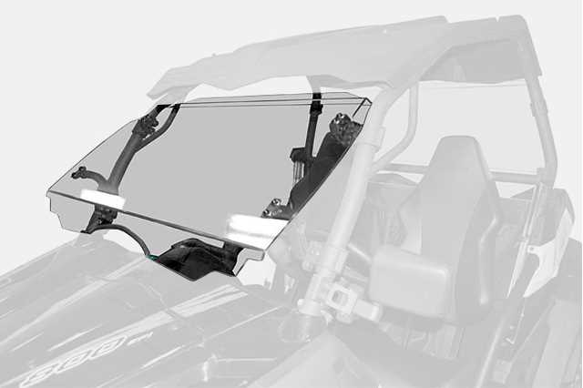 z550 / z8 - Tilt Windshield