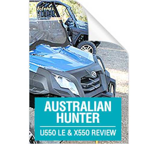Read Australian Hunter Review Here