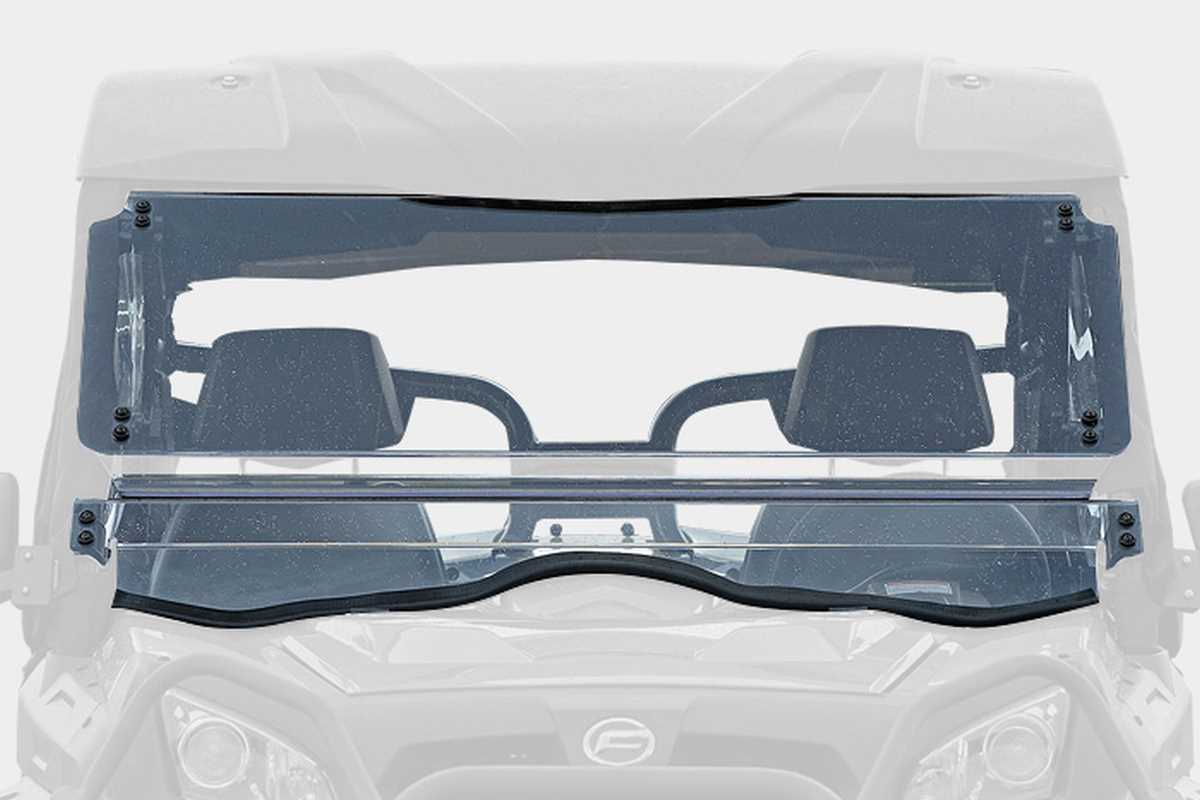 u550 / u800 - Tilt Windshield